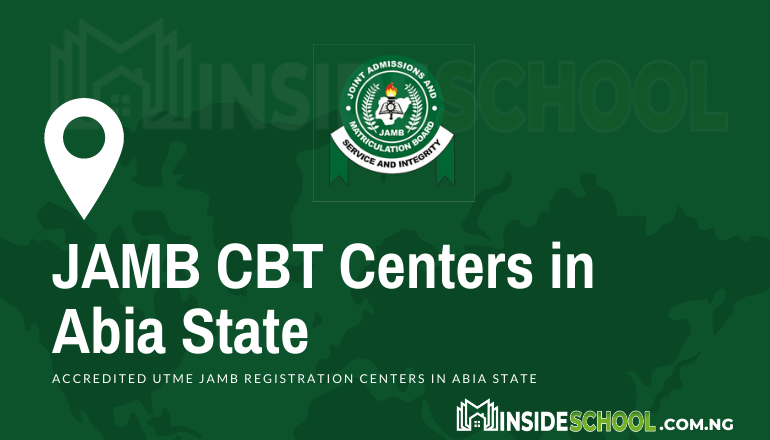 JAMB CBT Centres in Abia State 1 - JAMB Accredited CBT Centres in Abia State for UTME Registration