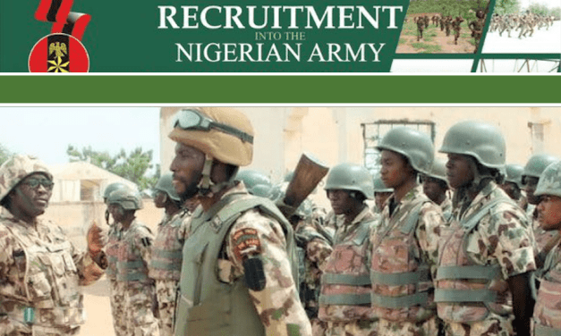 Nigerian Army Recruitment 2021: How To Apply for 81RRI Trades/Non-Tradesmen and Women