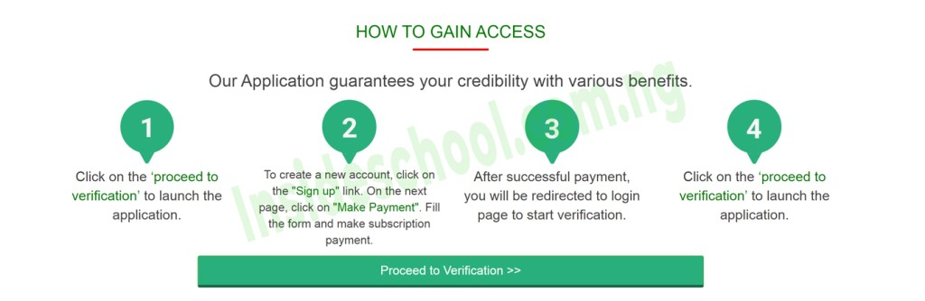 How to Gain Access NYSC Certificate Verification Portal 1024x334 - NYSC Certificates Verification – How to Verify NYSC Certificates Online   2010 - Till Date