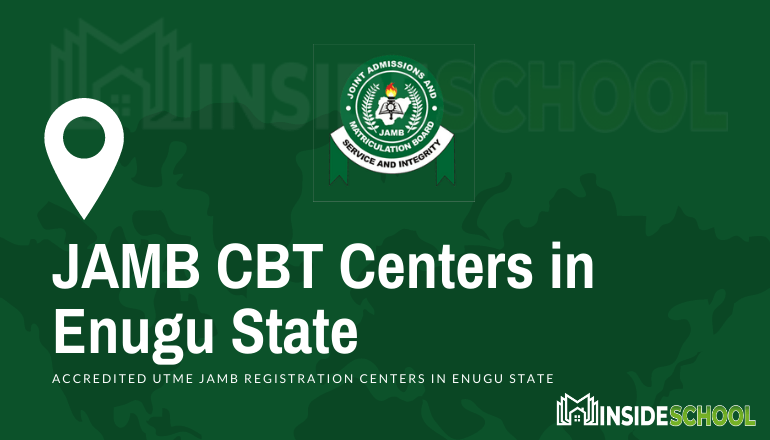 JAMB Accredited CBT Centres in Enugu State - JAMB Accredited CBT Centres in Enugu State for UTME Registration