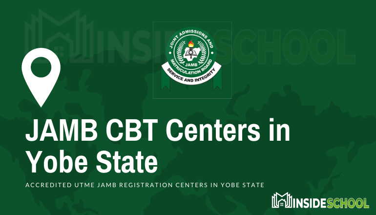 JAMB CBT Centres in Yobe State  - JAMB Accredited CBT Centres in Yobe State for UTME Registration