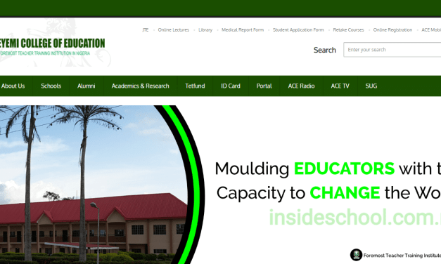 Adeyemi College of Education Ondo (ACEONDO) UTME Degree Admission List for 2019/2020 Academic Session   1st, 2nd, 3rd, 4th, 5th & Supplementary Batch