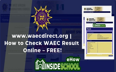 West African Examinations Council (WAEC) GCE Result 2020 (Second Series)