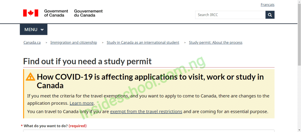 study Permit 1024x450 - Canada Student Visa - How to Get a Student Visa for Canada in 2021