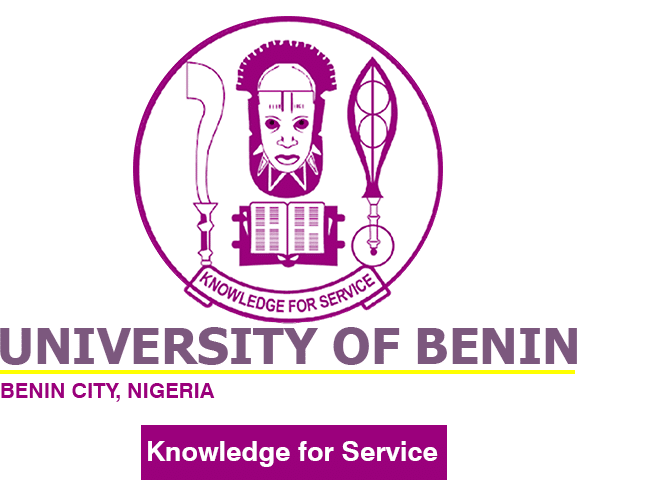 uniben logo - University of Benin (UNIBEN) Part-Time Admission Screening Form for 2020/2021 Academic Session [UPDATED]