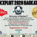 HackXploit Competition 2020 for Young Nigerian Hackers Up to N1.75 Million in Prizes