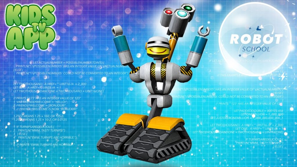 Robot School programming 1024x576 - Top 20+ Best Coding Apps for Kids and Teenagers [Free/ Paid]