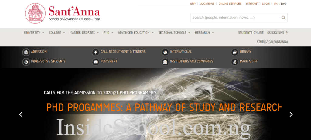 Sant Anna School of Advanced Studies 1 1024x462 - 10 Cheapest Universities in Italy for International Students
