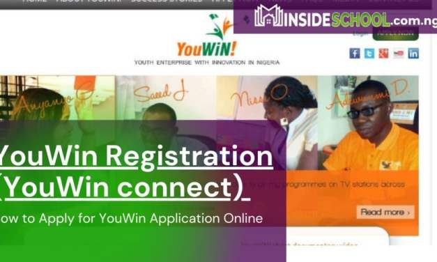 YouWin Registration 2021 (YouWin connect) and How to Apply for YouWin Application Online
