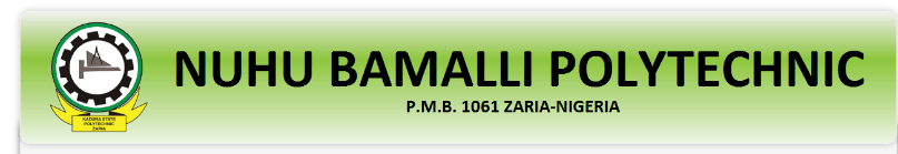 NUBAPOLY ND admission list - Nuhu Bamalli Polytechnic , NUBAPOLY Admission List for 2020/2021 Academic Session [ ND Full-Time ]