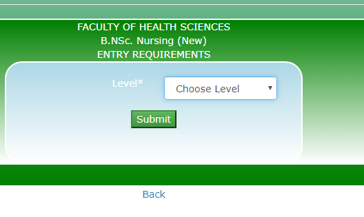 NOUN Admission Application Page for Nursing Programme - How to Apply For National Open University Of Nigeria (NOUN) Admission Form 2021