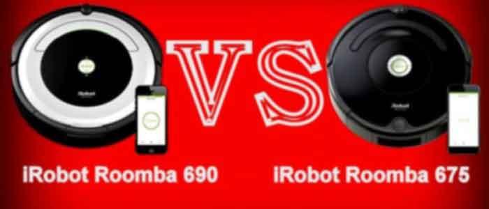 ROOMBA 675 VS 690 Photo