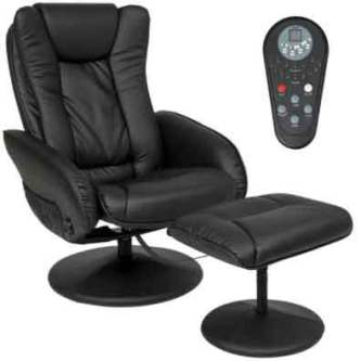 Best Choice Products Faux Leather Electric Massage