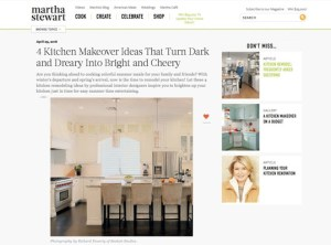 Martha Stewart 4 Kitchen Makeover Ideas That Turn Dark and Dreary Into Bright and Cheery