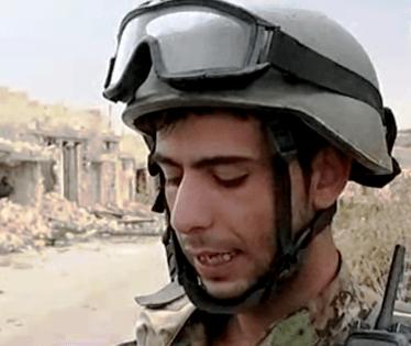 Yasan Muhammad, a Syrian Arab Army's sapper