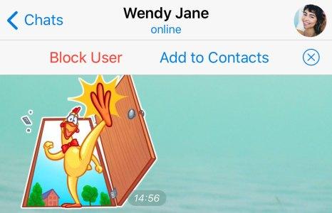 telegram 5.8 per android e ios aggiungi contatti