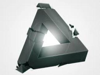 broken triangle