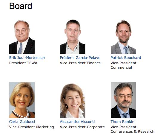 TFWA board