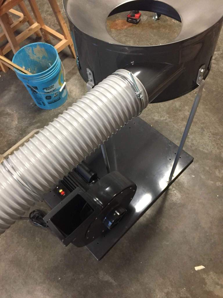 Harbror Freight dust collector