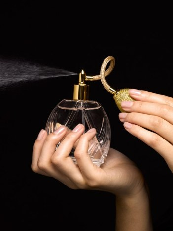 Perfume bottle from Getty Image