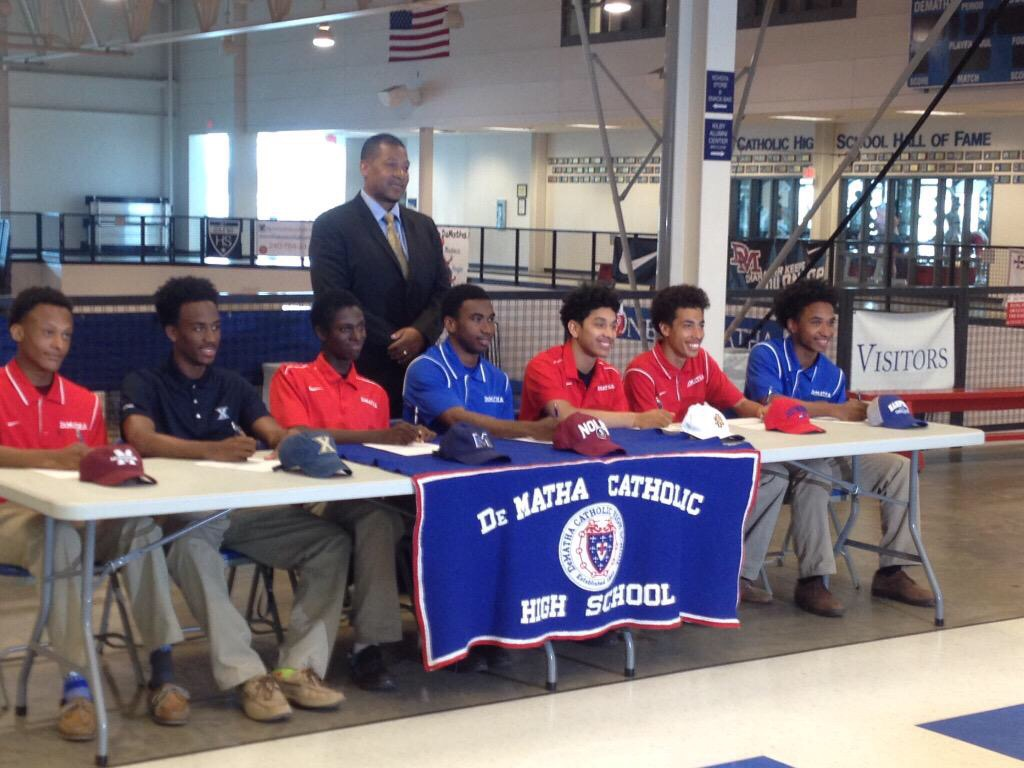 DeMatha Track Runners Signing Off To A New Chapter In Their Lives