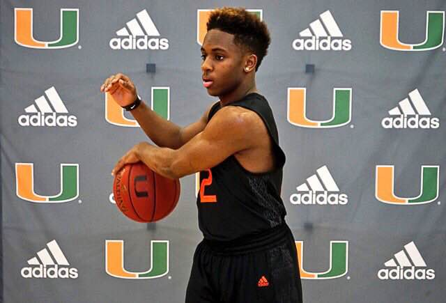 Point guard Chris Lykes commits to Miami