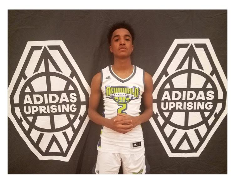 Brayon Freeman earns Player of the Game honors at Adidas Select League