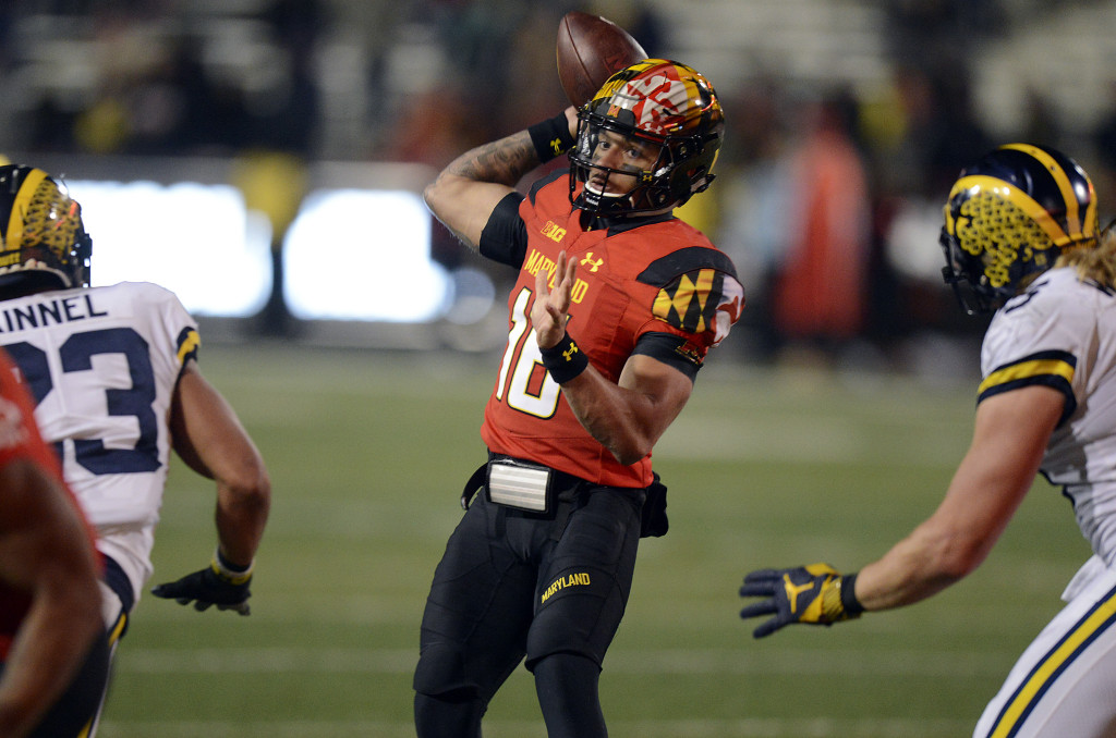 With the season wrapping up, Maryland is running out of options at quarterback