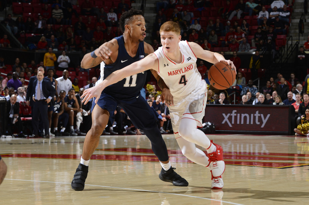Huerter, Morsell comes through late in Maryland's win over Penn State