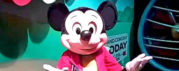Talking live mickey mouse character could mark beginning of new talking live mickey mouse character could mark beginning of new interactive disney meet and greets m4hsunfo Images