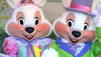 Easter Bunny Hops To Magic Kingdom In Time For Busy Holiday Weekend At Walt Disney World