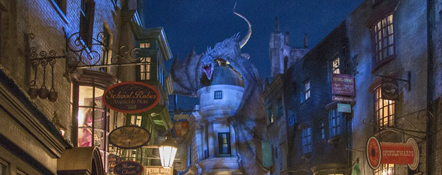 Inside Diagon Alley As Universal Orlando Fully Unveils ...