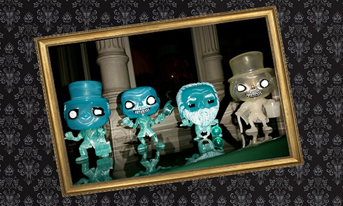 Haunted Mansion Funko Pop Collection Debuts At Disney Parks