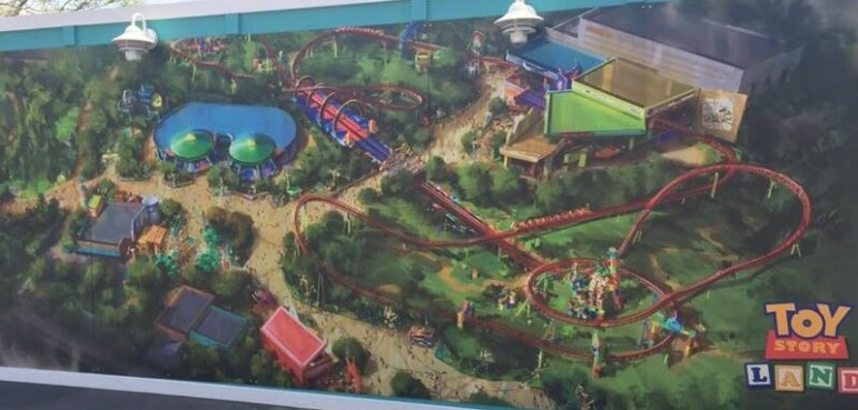 New Toy Story Land Concept Artwork Shows Tweaks To The Original