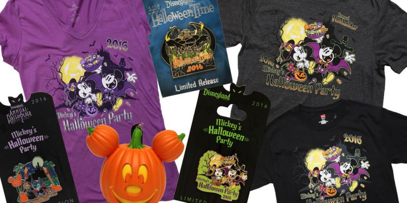 your first look at mickeys halloween party merchandise coming to disneyland resort