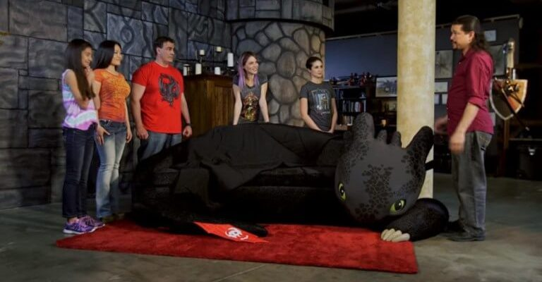 Video build your own how to train your dragon toothless couch video build your own how to train your dragon toothless couch ccuart Choice Image