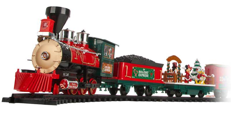 disney parks christmas train set from disney store - Disney Christmas Train