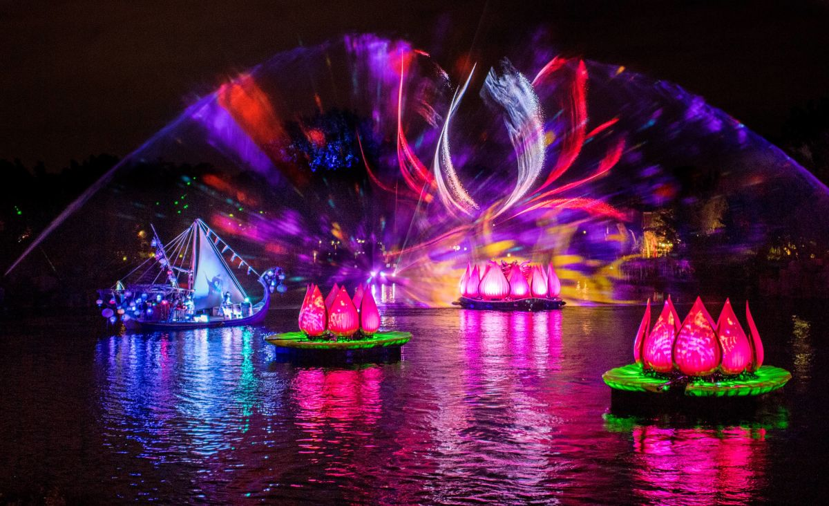Quot Rivers Of Light Quot Officially Debuts As Walt Disney World S