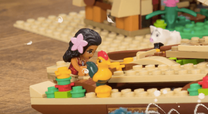 VIDEO: Disney debuts new digital series with Moana 'As Told By LEGO ...