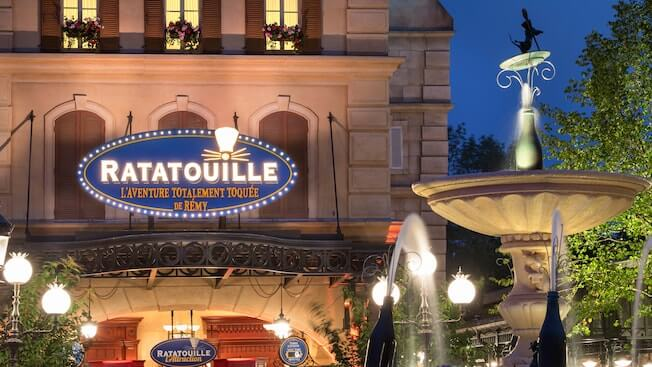 Closer Look Quot Ratatouille Quot Attraction Announced For Walt