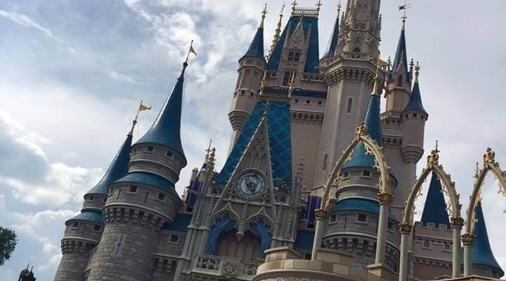 Walt Disney World Vacation - Cinderella's Castle
