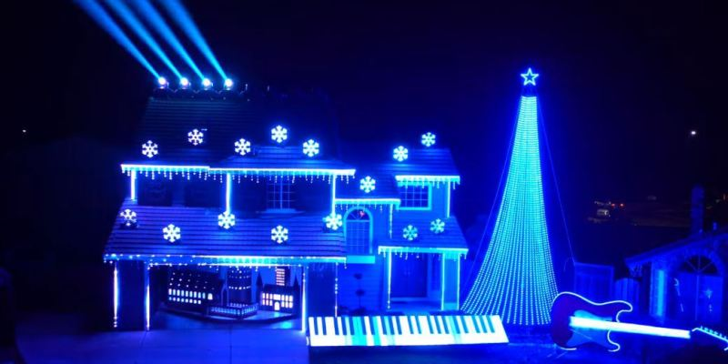 at home imagineering the most magical home christmas light displays