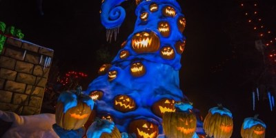 Nightmare Before Christmas Attraction Overlays