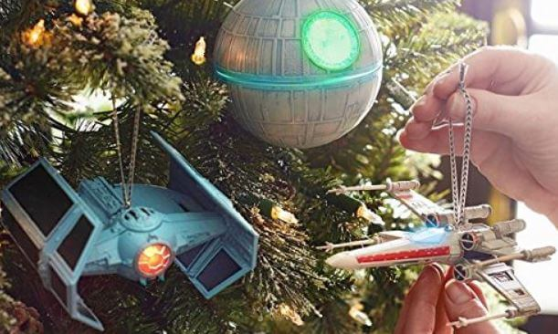 fav 5 star wars christmas ornaments from hallmark - Star Wars Christmas Decorations