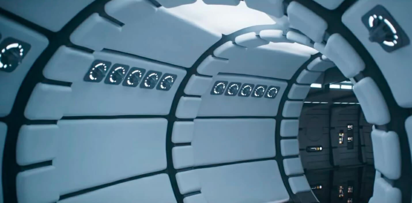 Life Size Millennium Falcon Interior Replica From U201cSolo: A Star Wars Storyu201d  Goes On Tour