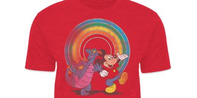 Mickey Mouse and Figment