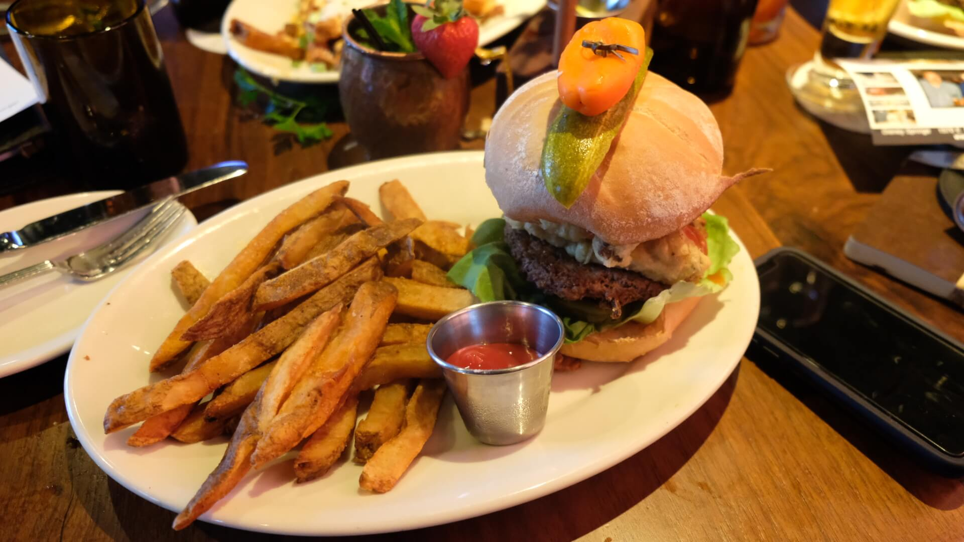 VIDEO: The Edison\'s Electric Garden Impossible Burger is a new ...