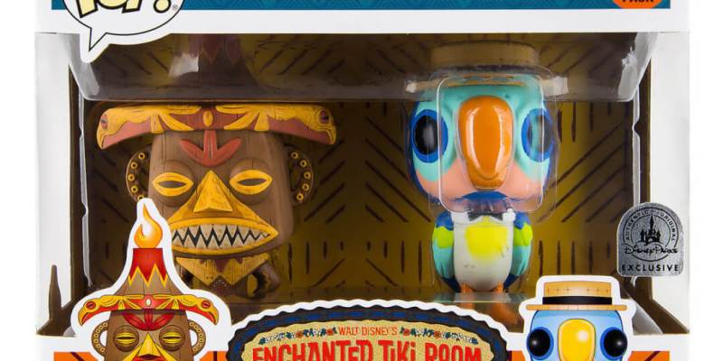 Limited Release Pele Amp Barker Parrot Enchanted Tiki Room