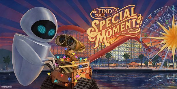 Image result for pixar themed billboard pixar pier