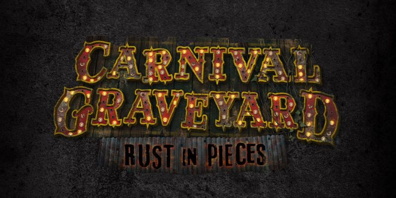 universal orlando announces carnival graveyard rust in pieces original haunted house for halloween horror nights 2018